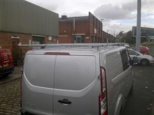 The new Ford Transit Custom Roofrack